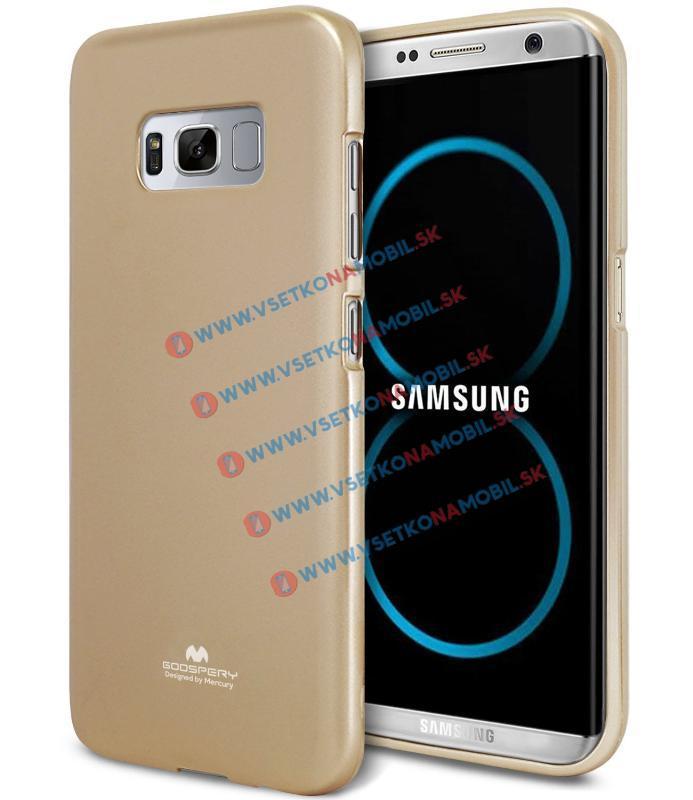 MERCURY JELLY Obal Samsung Galaxy S8 zlatý