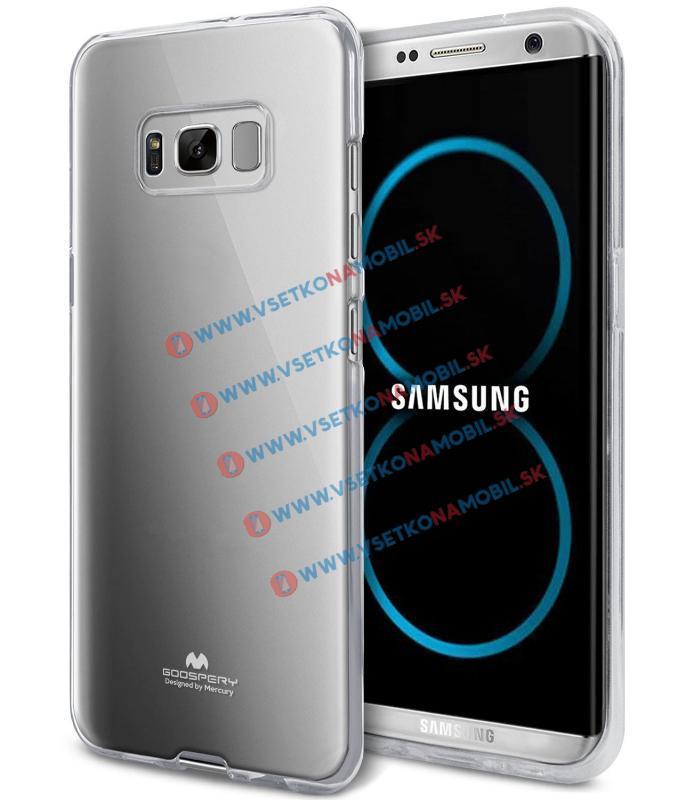 MERCURY JELLY Obal Samsung Galaxy S8 průhledný