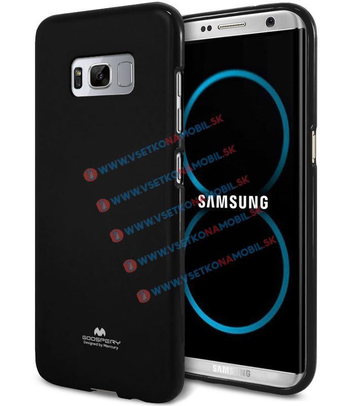 MERCURY JELLY Obal Samsung Galaxy S8 čierny