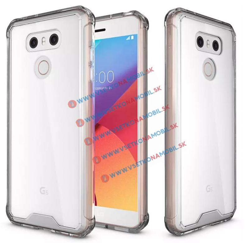 FORCELL SHOCK Ochranný kryt LG G6 priehľadný