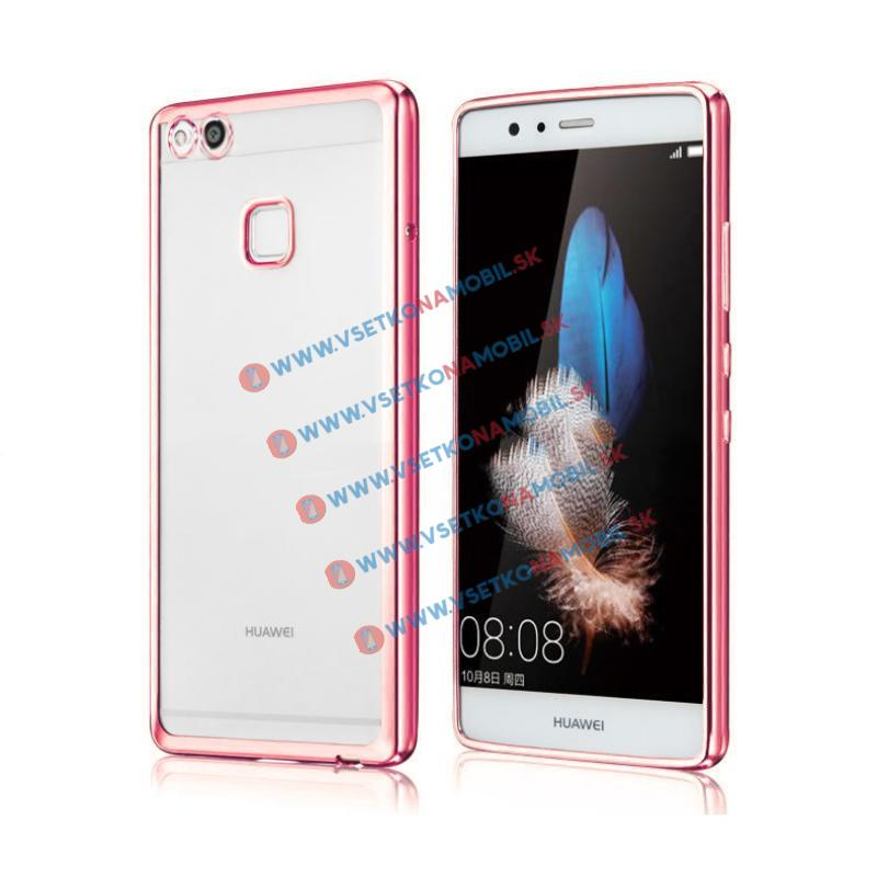 FORCELL METALLIC Silikónový obal Huawei P10 Lite ružový