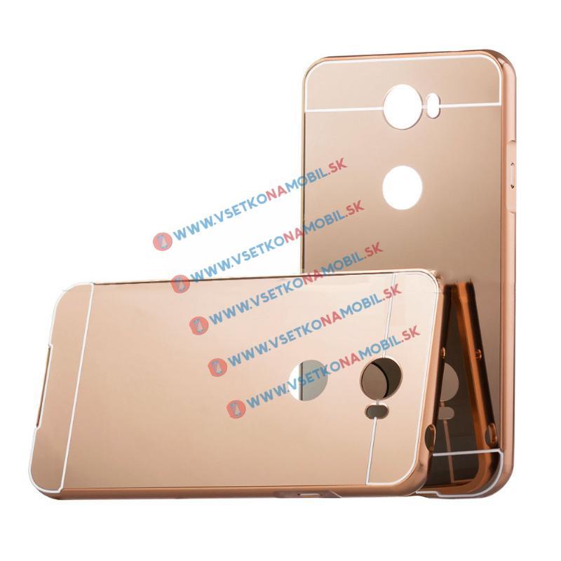 Ochranný zrkadlový obal Huawei Y5 II ružový