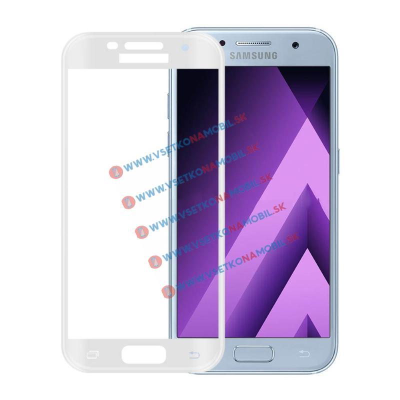 FORCELL 3D Tvrzené sklo Samsung Galaxy A3 2017 (A320) bílé