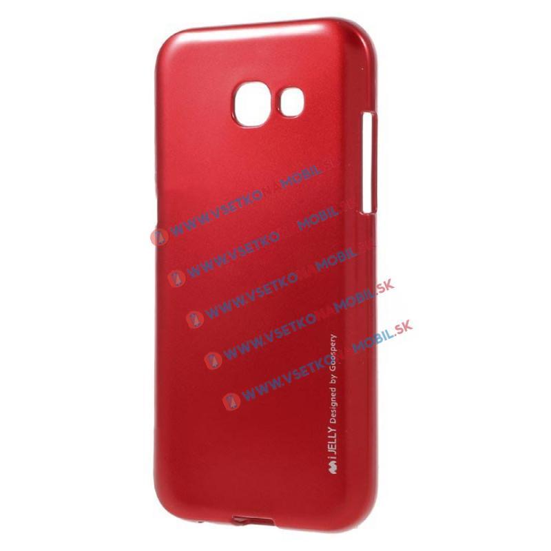 MERCURY I-JELLY Obal Samsung Galaxy A5 2017 (A520) červený