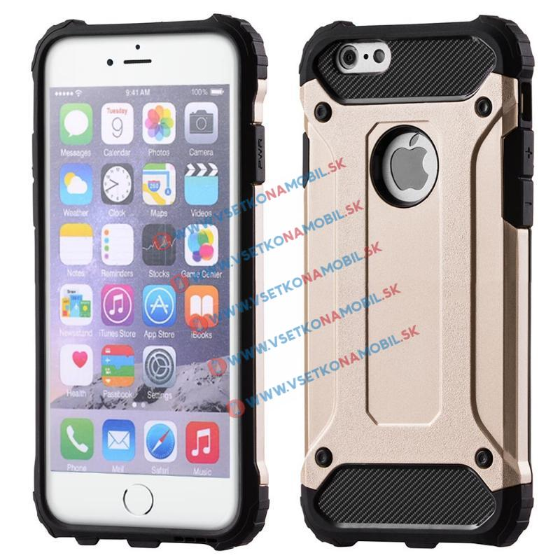 FORCELL TOUGH Ochranný kryt Apple iPhone 6/6S zlatý