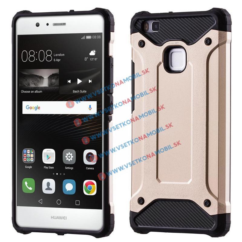 TOUGH Ochranný kryt Huawei P9 Lite zlatý