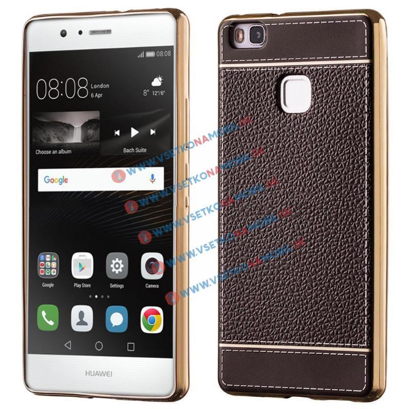 LITCH Ochranný obal Huawei P9 Lite hnedý