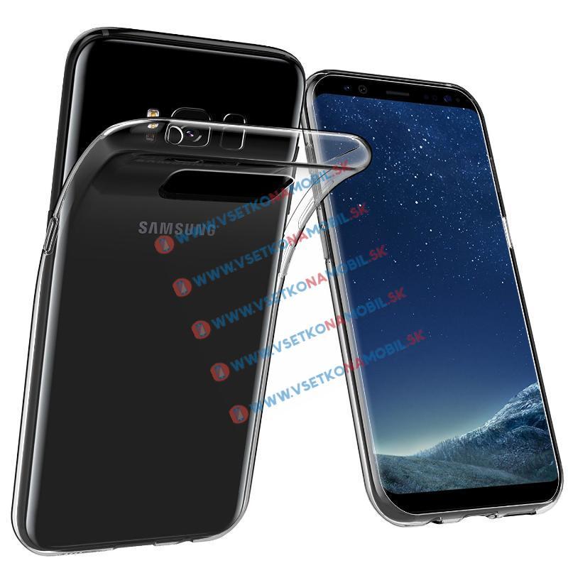 FORCELL Silikonový obal Samsung Galaxy S8 Plus průhledný