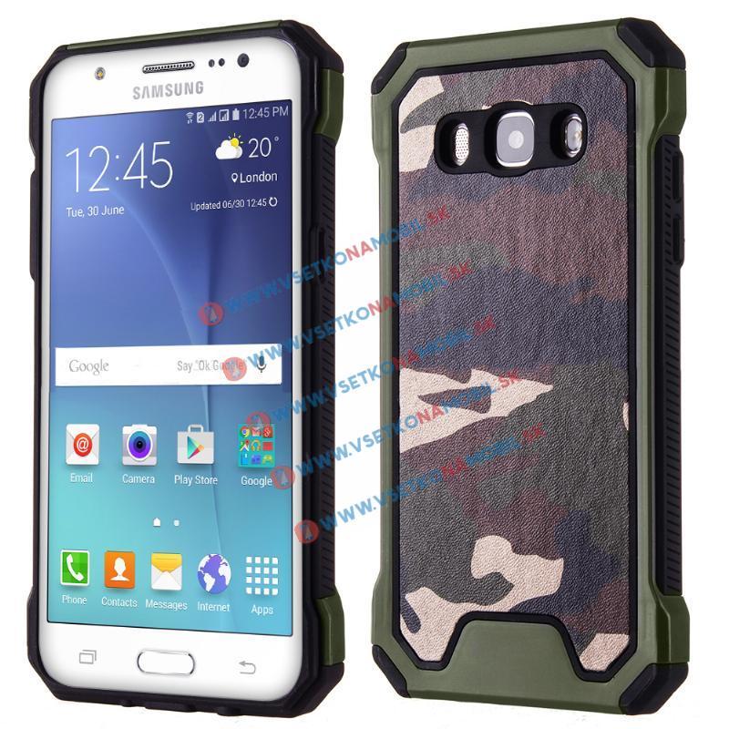 ARMY Ochranné pouzdro Samsung Galaxy J5 2016 (J510) zelené
