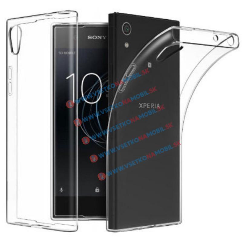 FORCELL Silikónový obal Sony Xperia L1 priehľadný