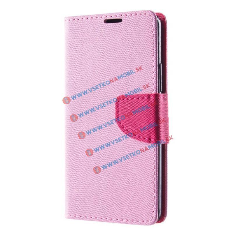 FORCELL Fancy Peňaženkový obal K6 Note růžový