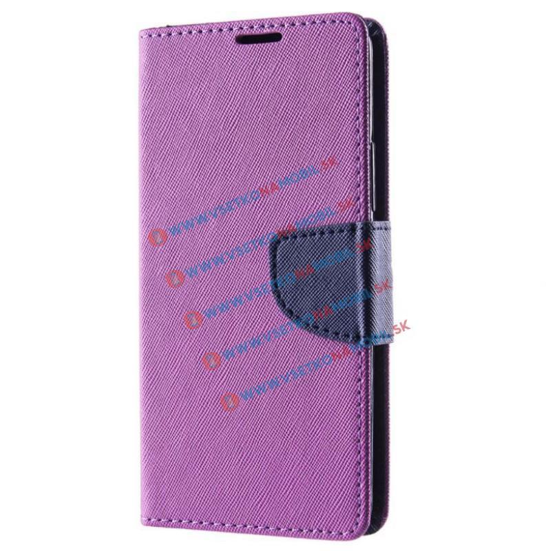 Fancy Peňaženkový obal K6 Note fialový