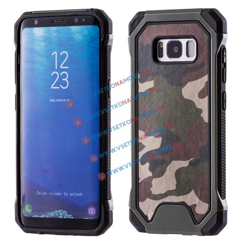 FORCELL ARMY Ochranné pouzdro Samsung Galaxy S8 zelené