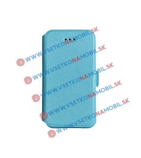 SMOOTH Peňaženkový obal Lenovo B modrý