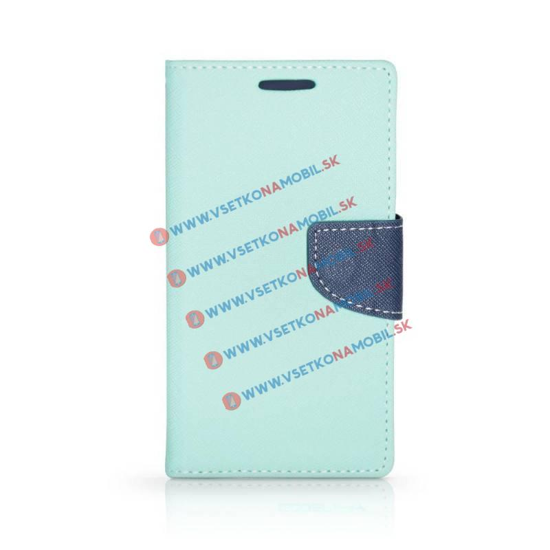 FANCY Peňaženkový obal LG V10 zelený