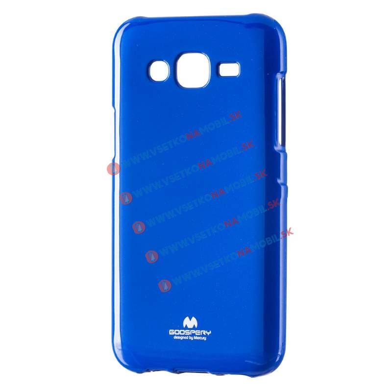 MERCURY JELLY TPU Obal Samsung Galaxy J5 2015 (J500) modrý