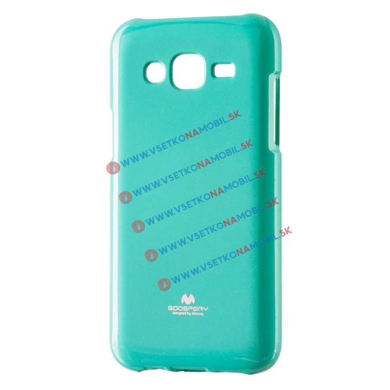 MERCURY JELLY TPU Obal Samsung Galaxy J5 2015 (J500) zelený