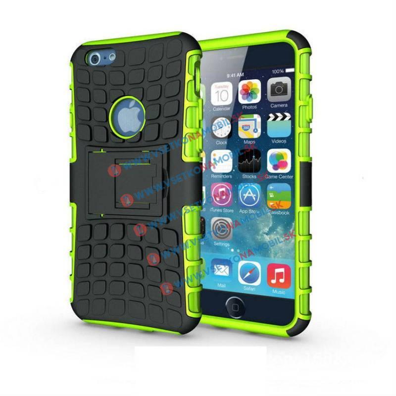 FORCELL STAND Ochranné pouzdro Apple iPhone 6 Plus / 6S Plus zelené