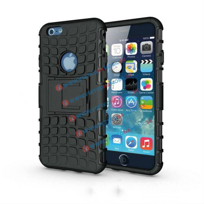 FORCELL STAND Ochranné púzdro Apple iPhone 6 Plus/6S Plus čierne