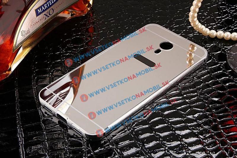 Ochranný zrcadlový obal Meizu M3 Note stříbrný