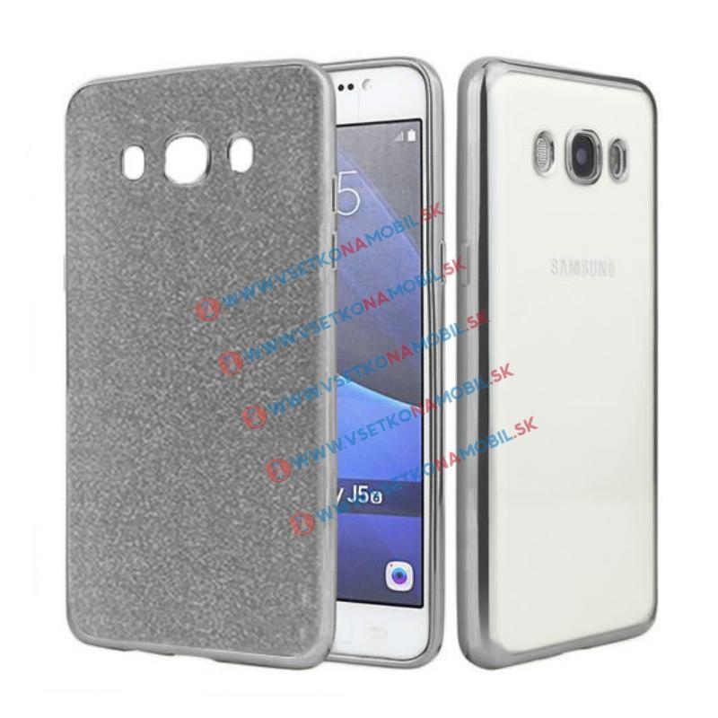 FORCELL GLIT TPU Silikonový obal Samsung Galaxy J5 2016 (J510) černý