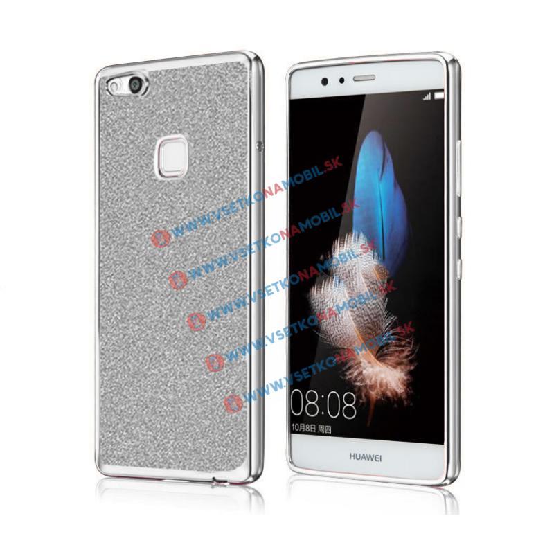 FORCELL GLite Silikonový obal Huawei P10 Lite stříbrný