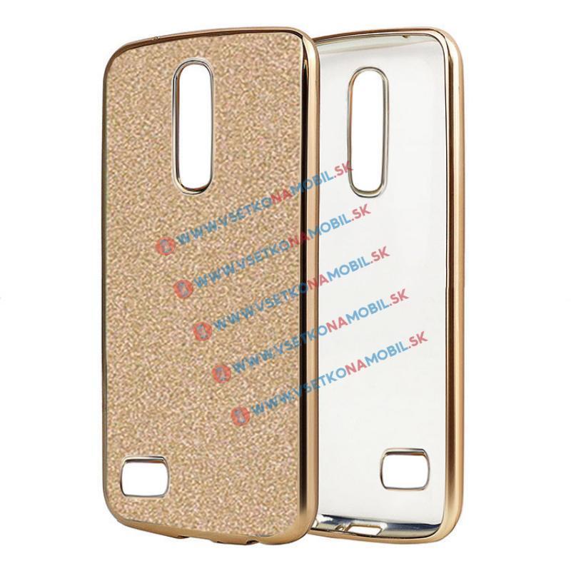 FORCELL GLite Silikonový obal LG K8 2017 zlatý