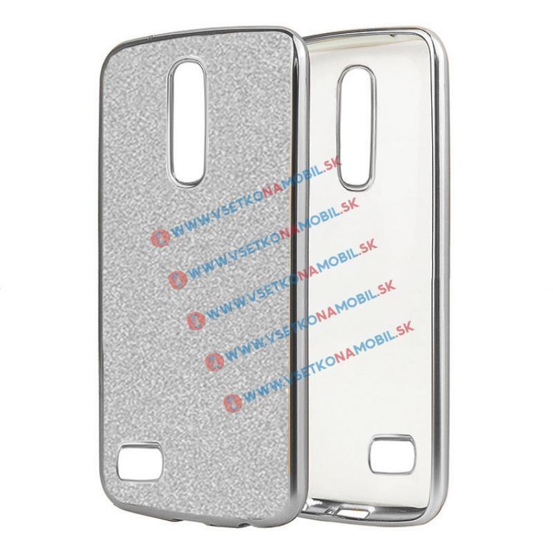 FORCELL GLite Silikonový obal LG K8 2017 stříbrný