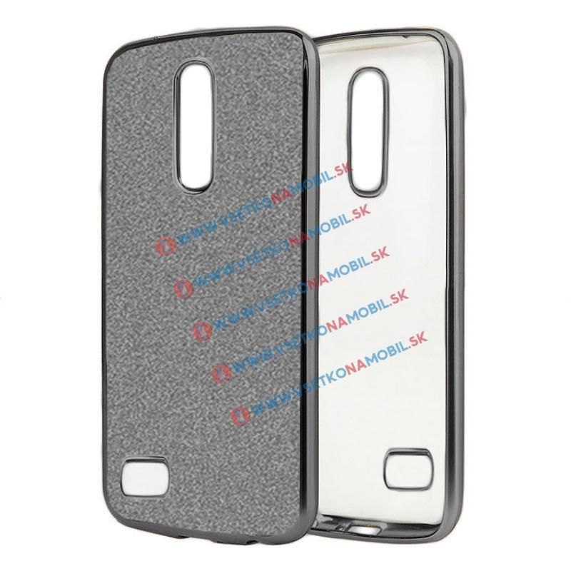 FORCELL GLite Silikonový obal LG K8 2017 černý