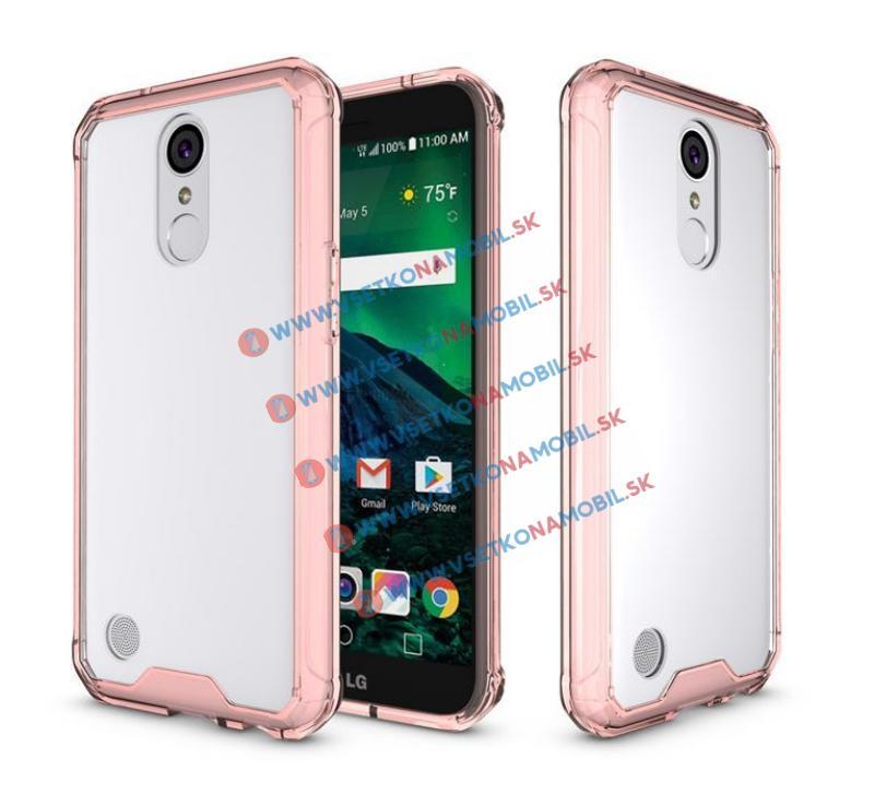 SHOCK Ochranný obal LG K10 2017 ružový