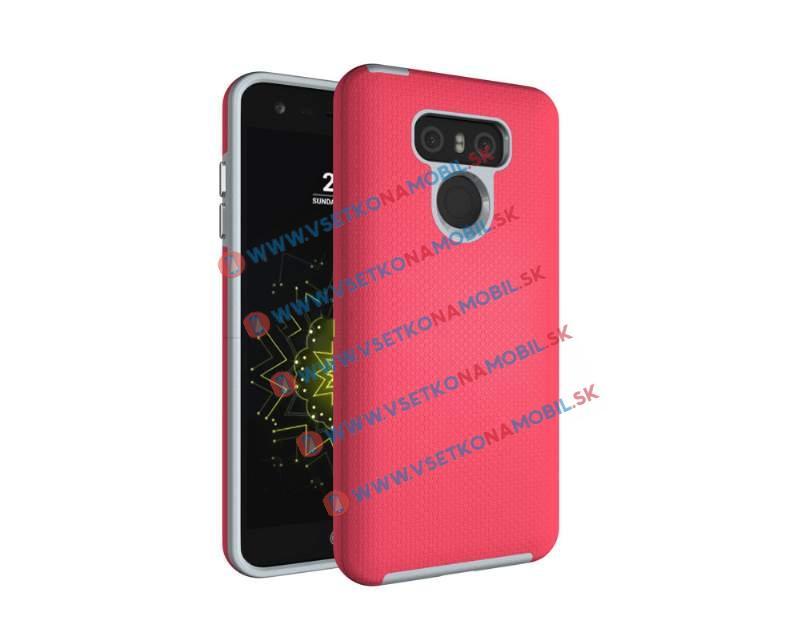 HYBRID Odolný obal LG G6 ružový