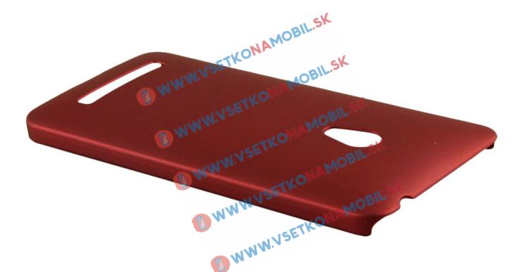 Plastový kryt Asus Zenfone 5 červený