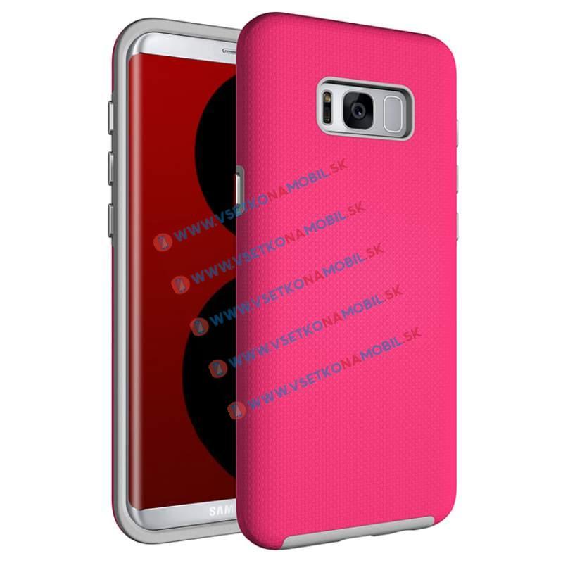 FORCELL HYBRID Ochranný obal Samsung Galaxy S8 Plus ružový