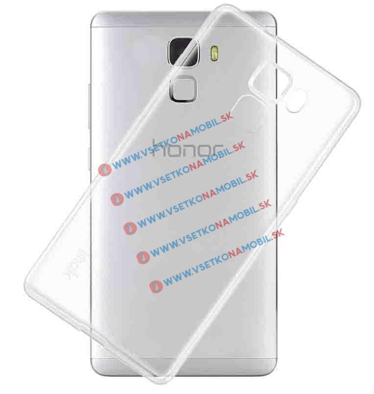 FORCELL Silikónový obal Huawei Honor 7 priehľadný