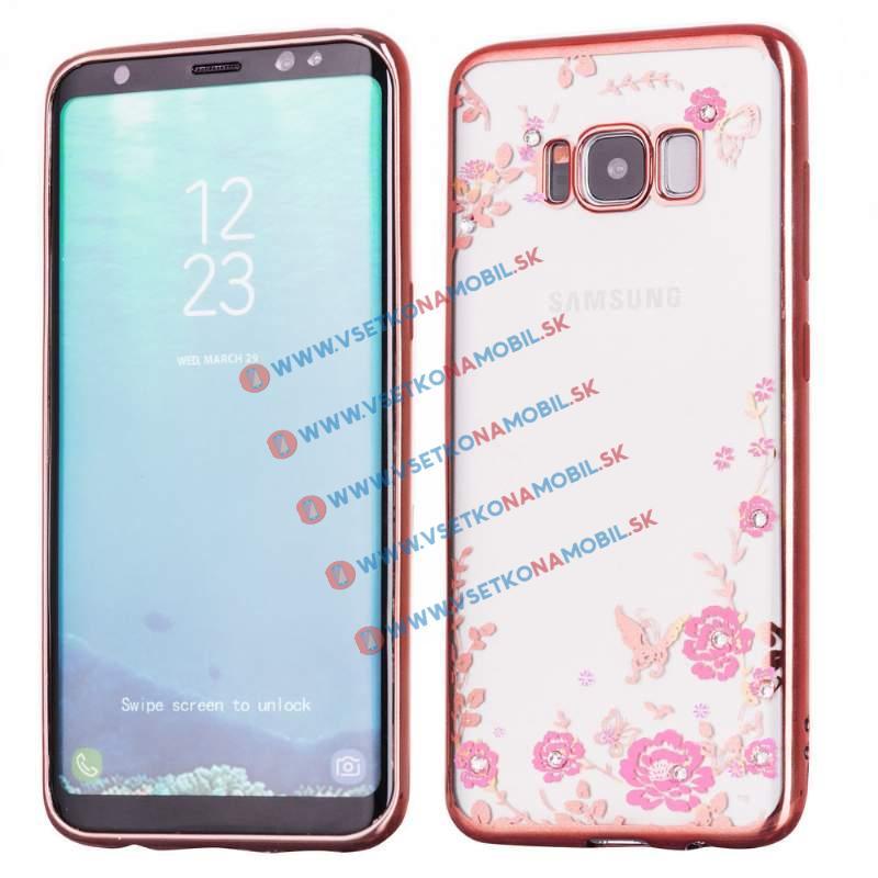 BLOOM TPU Samsung Galaxy S8 Plus ružový