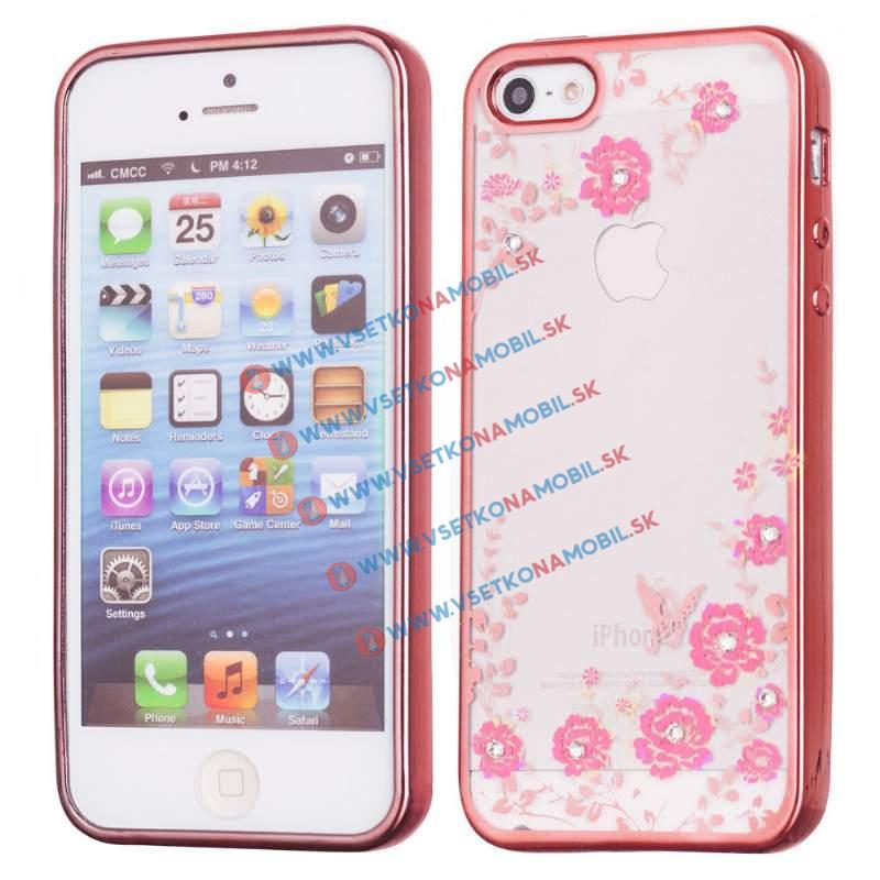 FORCELL BLOOM TPU Apple iPhone 5 / 5S / 5E ružový