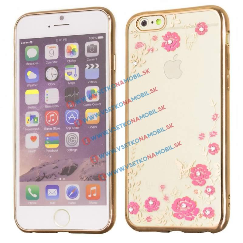 FORCELL BLOOM TPU Apple iPhone 6 / 6S zlatý