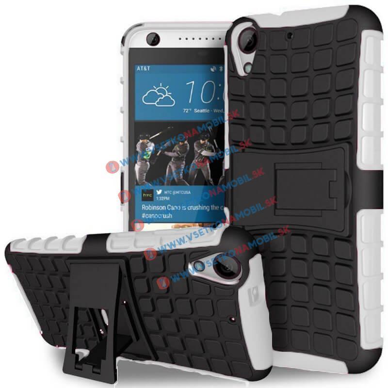 FORCELL STAND Extra odolný obal HTC Desire 530/630 bílý