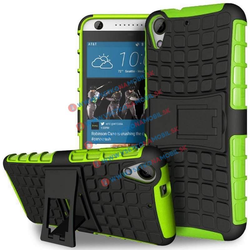 STAND Extra odolný obal HTC Desire 530 / 630 zelený