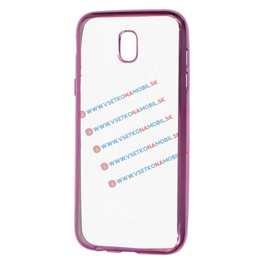 FORCELL METALLIC Silikónový obal Samsung Galaxy J5 2017 (J530) ružový