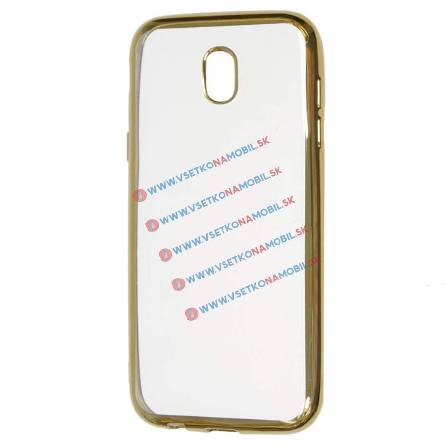 FORCELL METALLIC Silikónový obal Samsung Galaxy J5 2017 (J530) zlatý