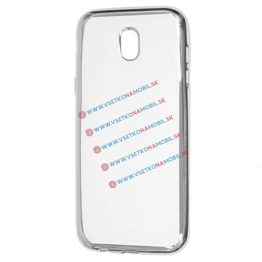 FORCELL METALLIC Silikónový obal Samsung Galaxy J5 2017 (J530) strieborný