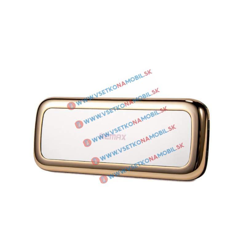 REMAX MIRROR 10 000 mAh Externá nabíjačka zlatá