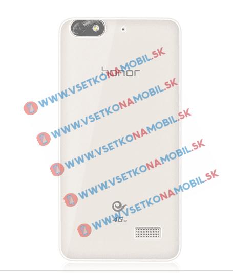 FORCELL Silikónový obal Huawei Honor 4C priehľadný