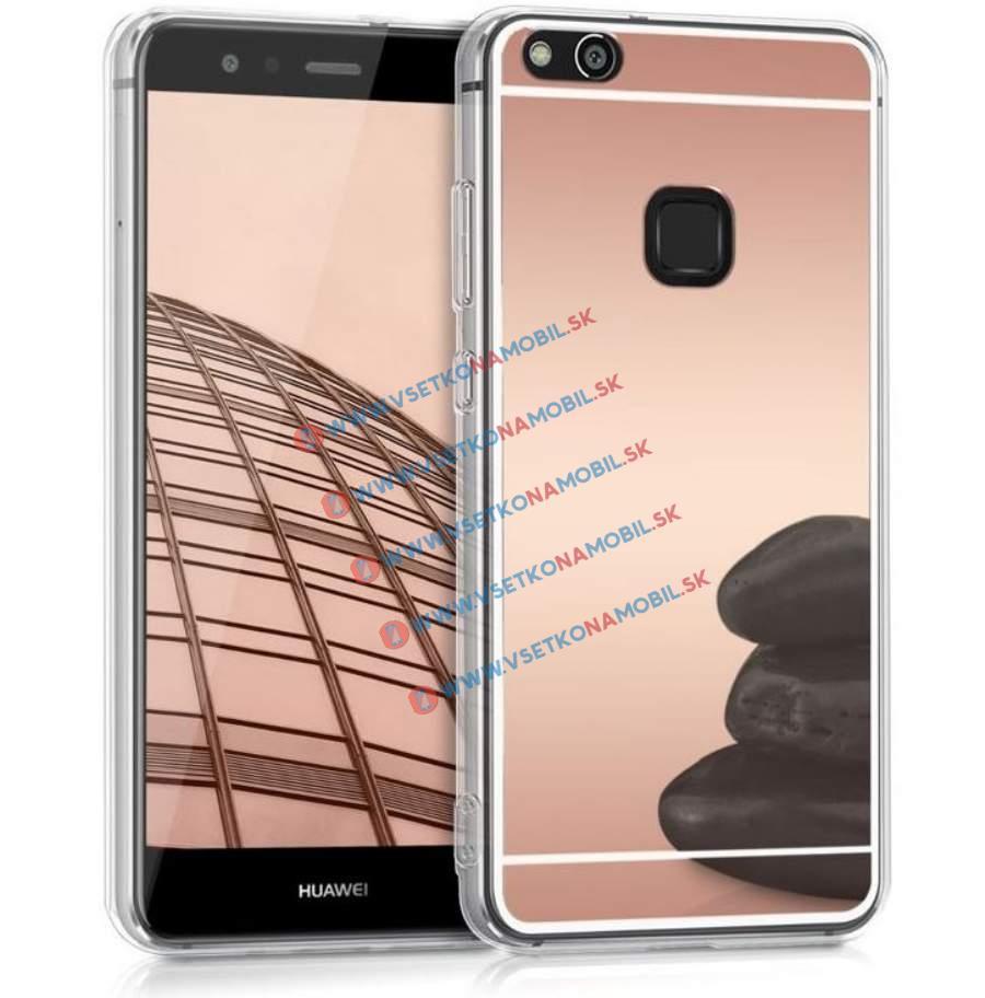 FORCELL Zrcadlový silikonový obal Huawei P10 Lite růžový