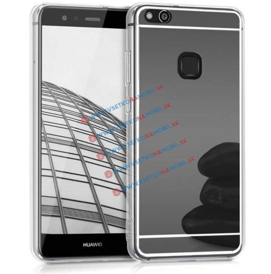 FORCELL Zrcadlový silikonový obal Huawei P10 Lite černý
