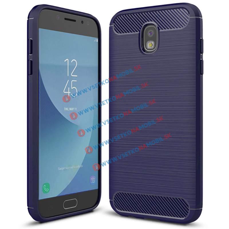 FORCELL FLEXI TPU obal Samsung Galaxy J7 2017 (J730) modrý