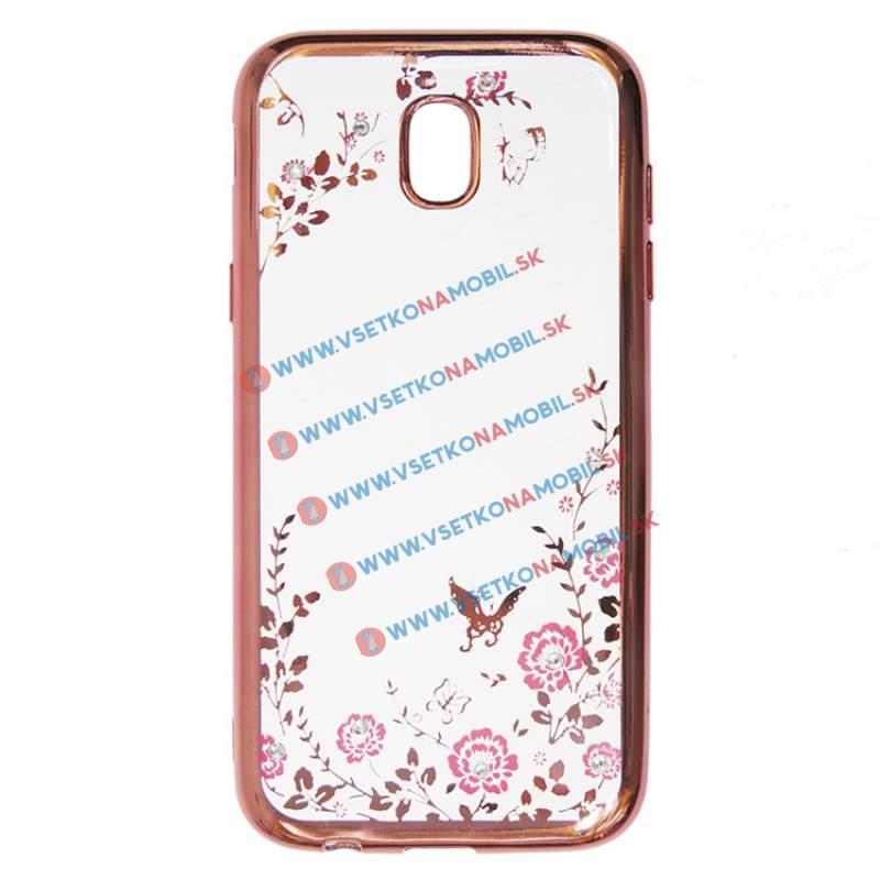 FORCELL BLOOM TPU Samsung Galaxy J7 2017 (J730) růžový