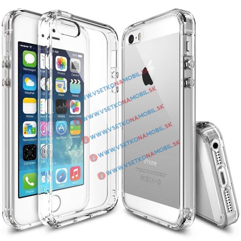 RINGKE FUSION Apple iPhone 5 / 5S / SE průhledný