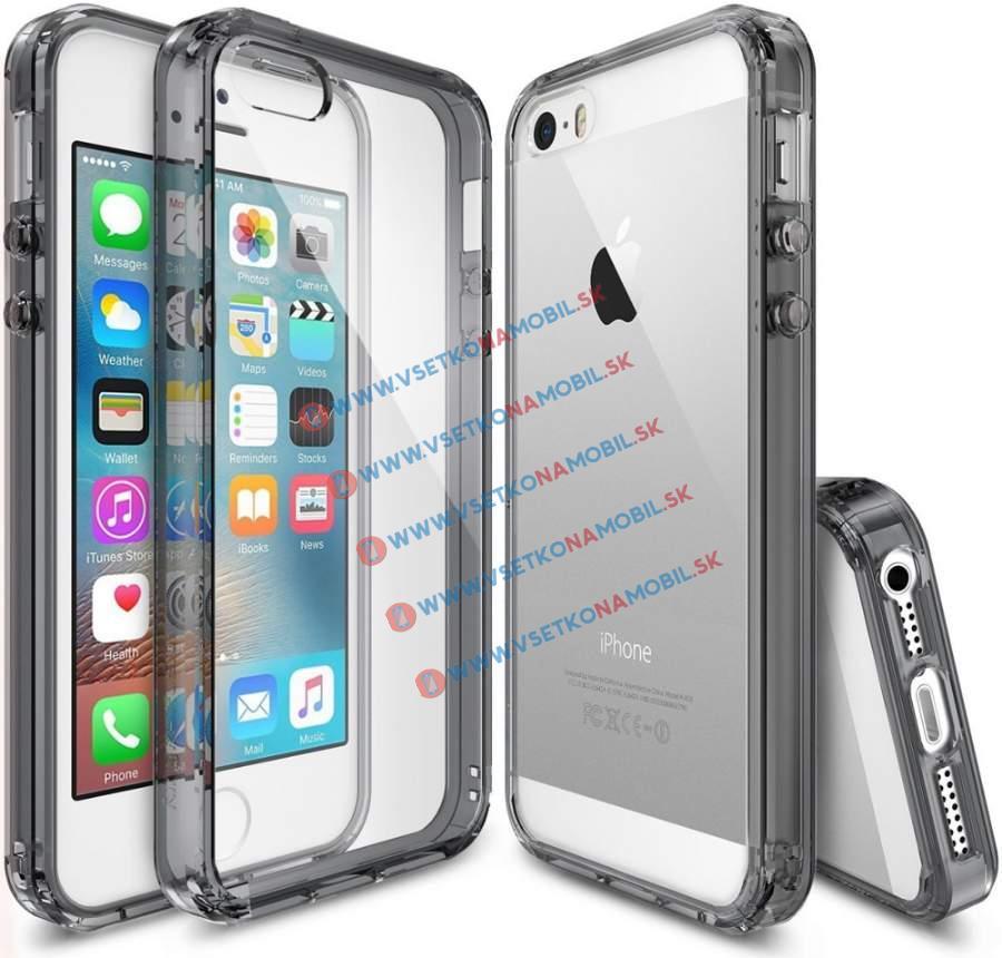 RINGKE FUSION Apple iPhone 5 / 5S / SE šedý